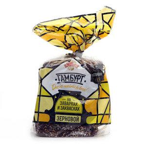 Хлеб Гамбург зерновой нарезка ТМ Аладушкин