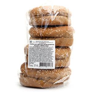 Булочка для гамбургера ржано-пшеничная, 4шт*90г