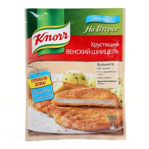 Сухая смесь для приготовления хрустящего венского шницеля на второе ТМ Knorr (Кнорр)