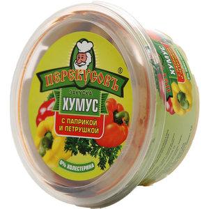 Хумус с паприкой и петрушкой ТМ Перекусов