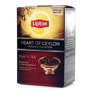 Чай черный с плантации острова цейлон ТМ Lipton (Липтон)