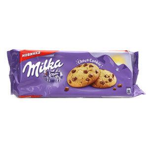 Печенье с кусочками шоколада ТМ Milka (Милка)