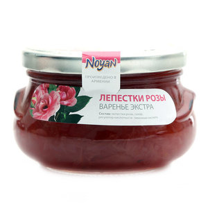 Варенье экстра с лепестками розы ТМ Noyan (Ноян)