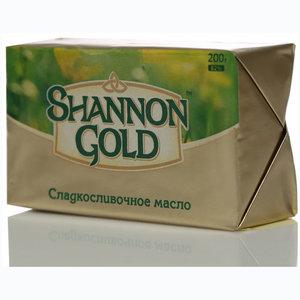 Масло сладко-сливочное 80% ТМ Shannon Gold (Шэнон Голд)