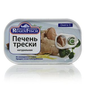 Печень трески натуральная Rugen Fisch
