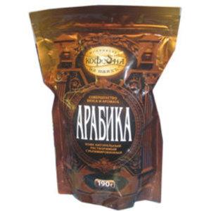 Кофе растворимый Арабика ТМ Московская кофейня на паяхъ сублимированный