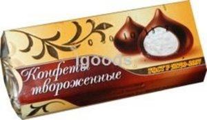 Сырок творожный с ванилином Конфеты твороженные глазированный молочным шоколадом