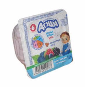 Творожок лесные ягоды 3,9% ТМ Агуша
