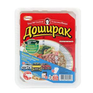 Лапша быстрого приготовления со вкусом говядины ТМ Доширак