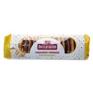 Печенье овсяное классическое ТМ Посиделкино