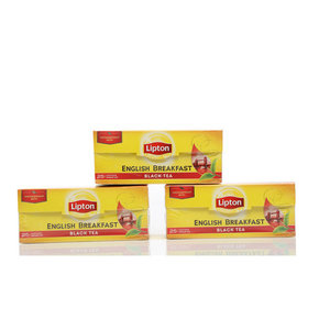 Чай черный 3*25*2г ТМ Lipton (Липтон) English breakfast