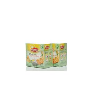 Чай зеленый 2*20*1,8г ТМ Lipton (Липтон) с цедрой цитрусовых