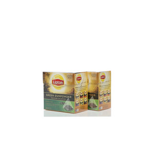 Чай зеленый 2*20*1,8г ТМ Lipton (Липтон) green gunpowder discovery collection