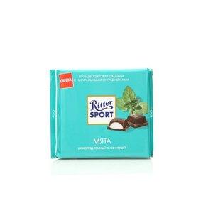 Шоколад темный с мятной начинкой ТМ Ritter Sport (Риттер Спорт)