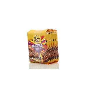 Шоколад MaxFill воздушный рис, фундук, ягоды 5*85г ТМ Alpen Gold (Альпен гольд)