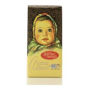 Шоколад молочный Аленка 5*100г ТМ Красный Октябрь