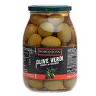 Оливки зеленые с косточкой Гигант в рассоле ТМ Romeo Rossi (Ромео Росси)
