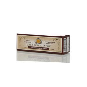 Сырок творожный глазированный в темном шоколаде с ванилью 26% ТМ Б.Ю. Александров