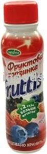 Йогурт Фруктовая корзинка лесные ягоды 1,7% ТМ Fruttis (Фрутис)