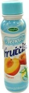 Йогурт легкий с соком персика 0,1% ТМ Fruttis (Фруттис)