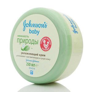 Увлажняющий крем Нежность природы ТМ Johnson's baby (Джонсонс бэби)