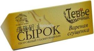 Сырок глазированный Luxury (Лакшери) в темном шоколаде Вареная сгущенка ТМ Тевье молочник