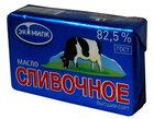 Масло сливочное несоленое 82,5% ТМ Экомилк