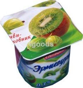 Йогурт киви-крыжовник 0,3% ТМ Эрмигурт