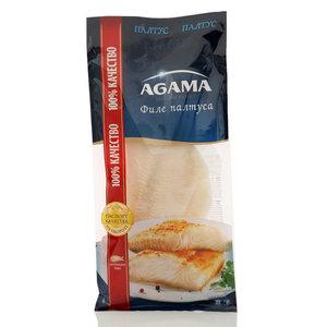 Палтус филе замороженное ТМ Agama (Агама)