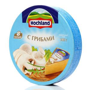 Сыр плавленый с грибами ТМ Hochland (Хохланд) 55%