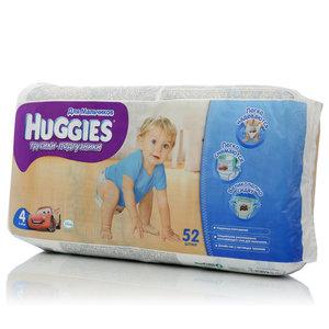 Трусики-подгузники детские одноразовые для мальчиков 9-14кг ТМ Huggies (Хаггис), 52шт