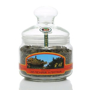 Чай зеленый крупнолистовой Зеленая улитка ТМ Русская чайная компания
