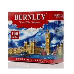 Чай черный цейлонский English Classic ТМ Bernley (Бернли), 100 пакетиков