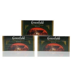 Чай черный кенийский 3*25*2г ТМ Greenfield (Гринфилд) Kenyan sunrise