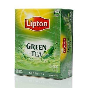 Чай зеленый ТМ Lipton (Липтон) green tea classic, 100 пакетиков