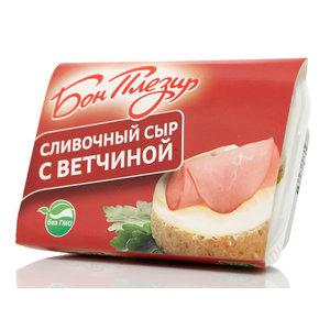 Сыр плавленый сливочный ТМ Бон Плезир 55%