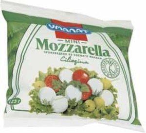 Сыр Mozzarella Ciliegina Mini (Моцарелла Чильеджина Мини) ТМ Умалат 50%