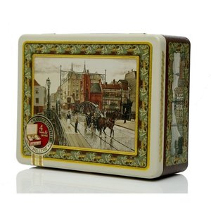 Чай черный байховый в чайном наборе Английская шкатулка ТМ Hilltop (Хиллтоп)