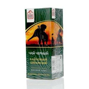 Чай черный байховый ТМ Fine Food (Файн Фуд) Цейлонский, 25 пакетиков