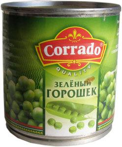 Горошек зеленый ж/б easy open 212 (12 )Corrado