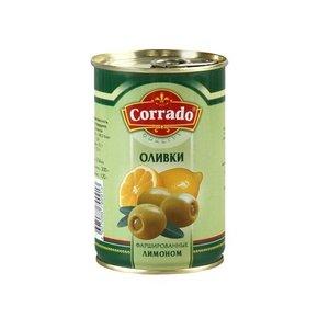Оливки фаршированные лимоном ТМ Corrado (Коррадо)