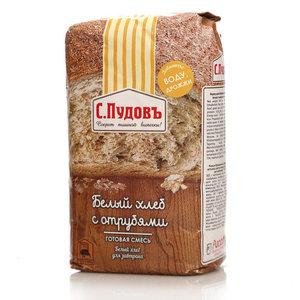 Готовая смесь белый хлеб с отрубями ТМ С.Пудовъ