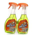 Средство для мытья стекол и поверхностей Профессионал, с ароматом лайма ТМ Mr. Muscle (Мистер Мускл), 2*500мл