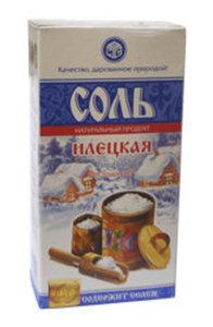 Соль поваренная пищевая молотая  ТМ Илецкая