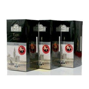 Чай черный Earl Grey 3*25*2г ТМ Ahmad Tea (Ахмад Ти)