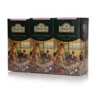 Чай чёрный пакетированный с ароматом чабреца Summer Thyme (Летний Чабрец) 3*25*1,8 г ТМ Ahmad Tea (Ахмад Ти)