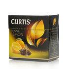 Чай чёрный в пирамидках с цедрой цитрусовых, лепестками цветов и легким ароматом лимона Sunny Lemon (Санни Лемон) 20*1,7 г ТМ Сurtis (Куртис)