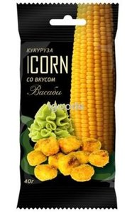 Кукуруза Icorn Classic со вкусом васаби ТМ Icorn (Икорн)