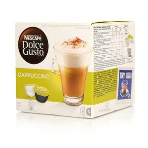 Капсулы для кофе-машины Cappuccino 16 шт ТМ Nescafe Dolce Gusto (Нескафе Дольче Густо)