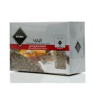 Чай черный Дарджилинг ТМ Rioba (Риоба), 20 пакетиков